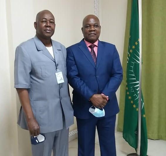 SEM ZENETH Fulgence a reçu en audience le Président de la CENI du Mali