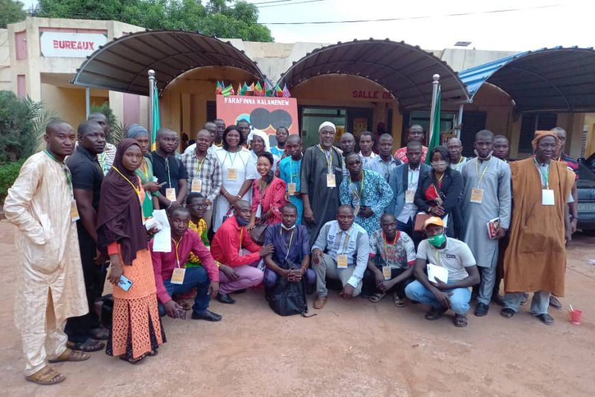1ère édition du forum panafricain sur le rôle la jeunesse africaine face à l'insécurité dans le Sahel, défis et perspectives.