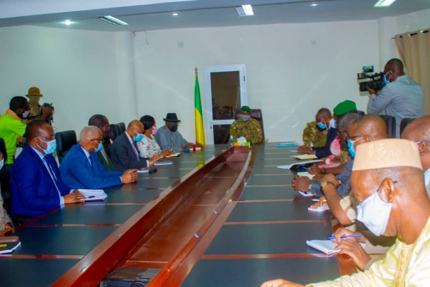 La MISAHEL, représentée par M Fulgence Zeneth, Chef de mission par intérim, participe à la médiation de haut niveau de la CEDEAO conduite par SEM Goodluck Jonathan.