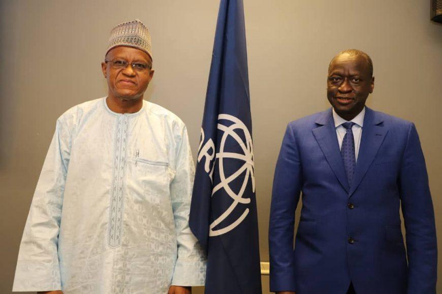 Visite du Haut Représentant à la Banque Mondiale